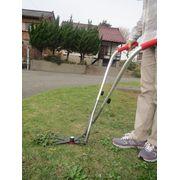 伸縮式草刈ばさみステンレス+アルミハンドル